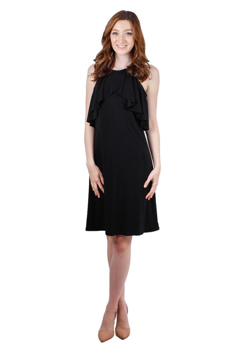 R m richards black dress lace
