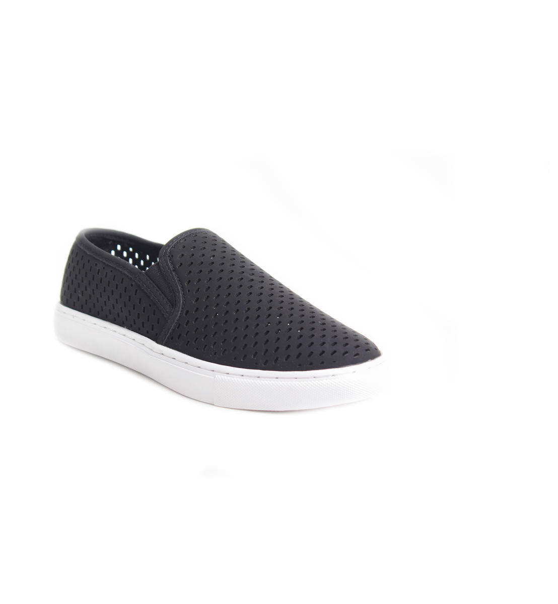 Perforated Platform Sneaker