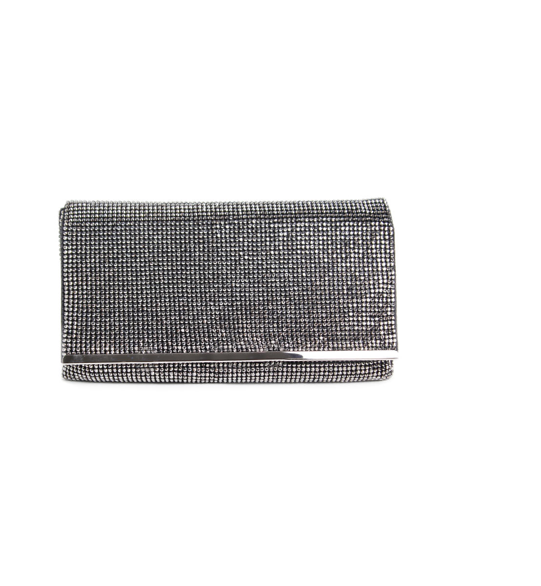 Large Beaded Flap Clutch