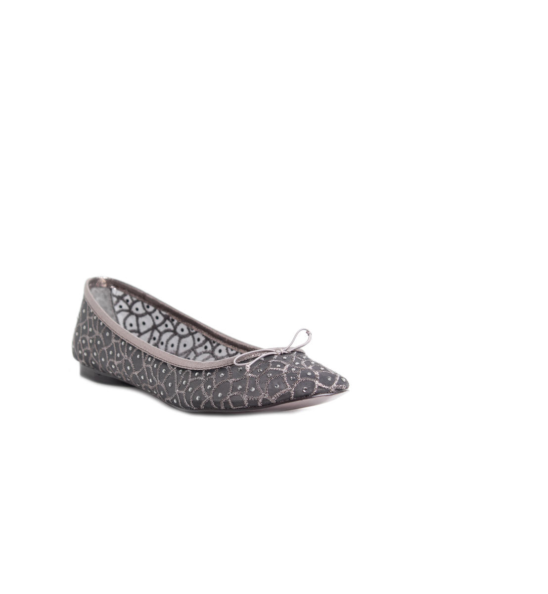 Jewel Encrusted Mesh Flat