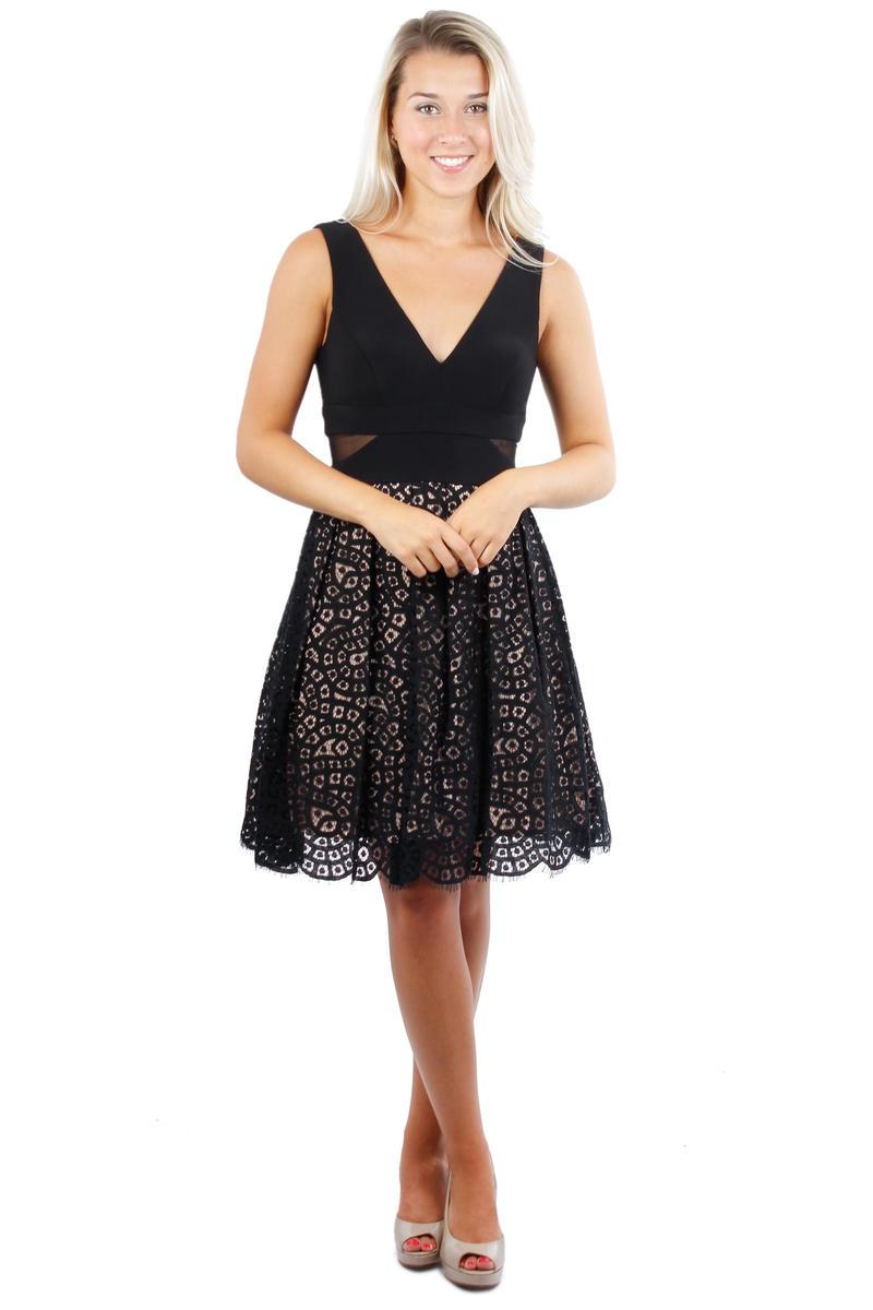 Crochette Jersey Bodice Dress
