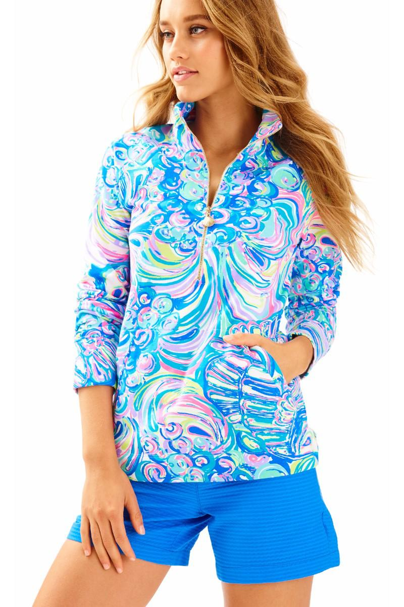 Lilly Pulitzer-UPF 50+ SKIPPER PRINTED POPOVER