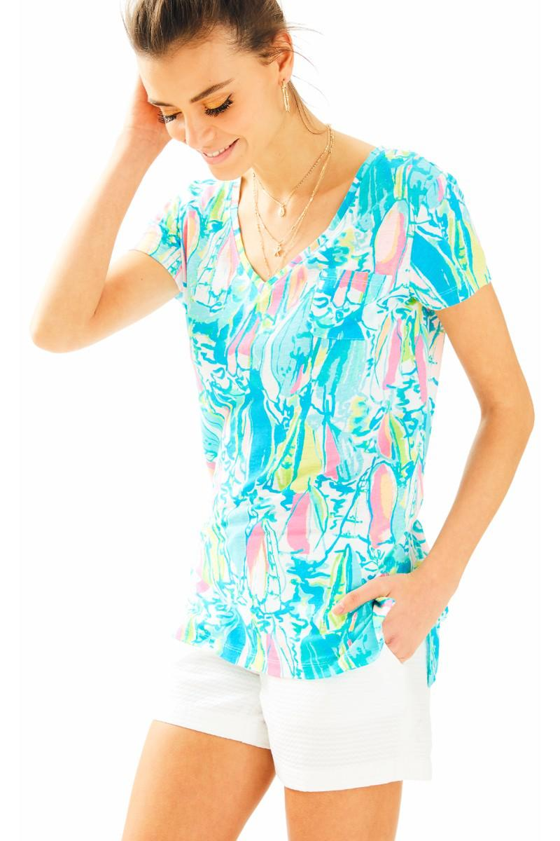 Lilly Pulitzer-Meredith Short Sleeve Tee