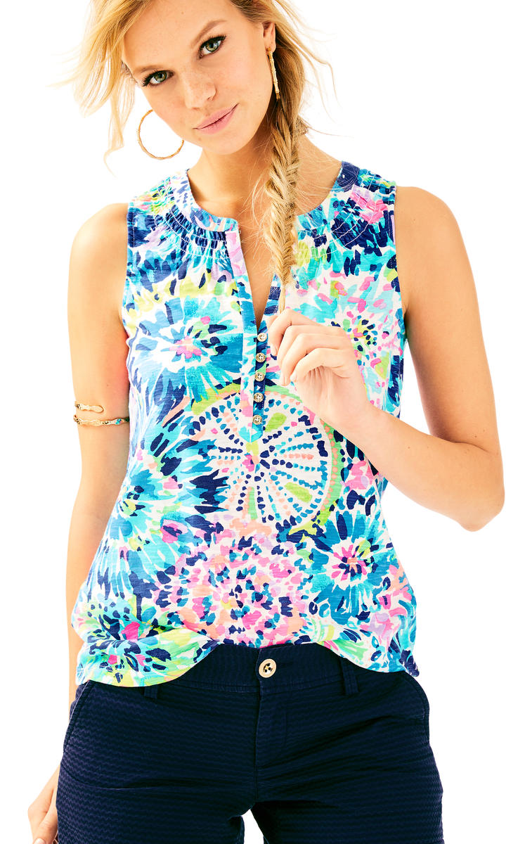 Lilly Pulitzer-Essie Top