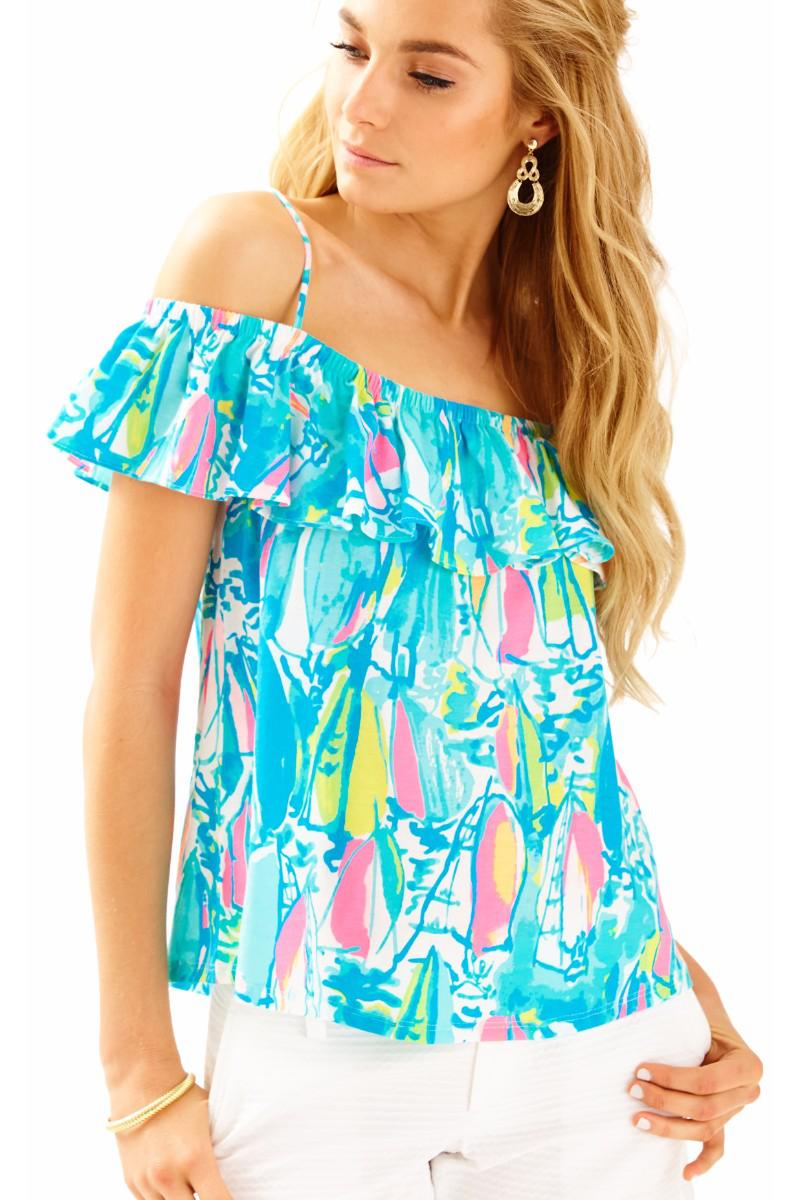 Lilly Pulitzer-Tamiami Top
