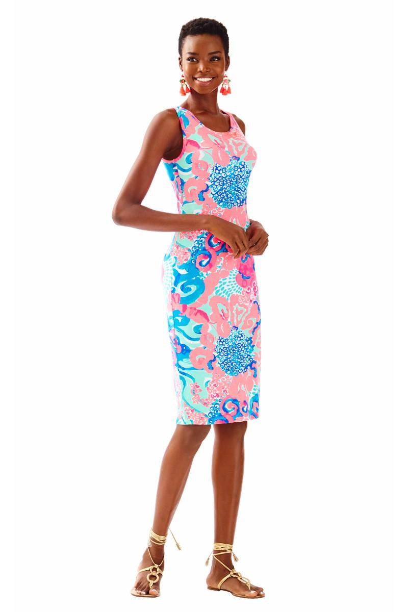 Lilly Pulitzer-JORDYN PRINTED MIDI DRESS