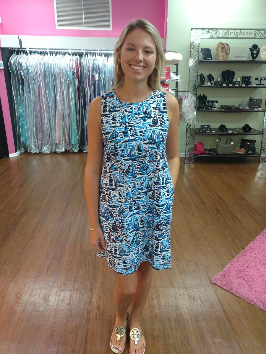 Jude Connally- Melody Shift Dress