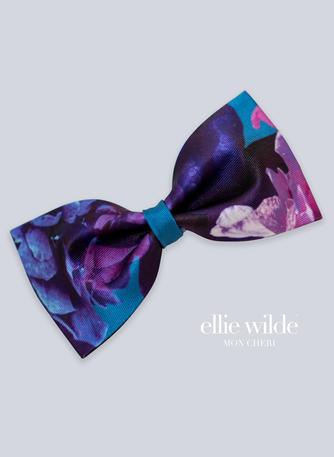 Ellie Wilde Signature Print Bow Tie