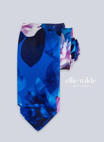 Ellie Wilde Signature Print Straight Tie