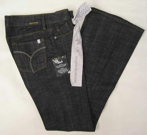 DISH Denim Jeans Blue Black Wash