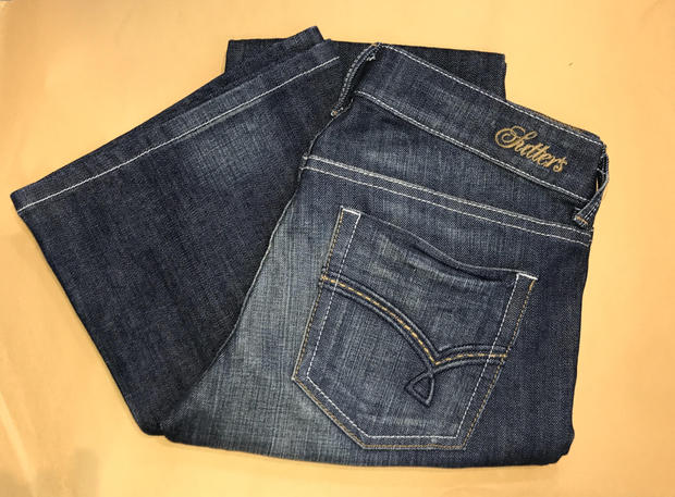 SUTTER'S Jeans Dust Blue Wash Boot Cut