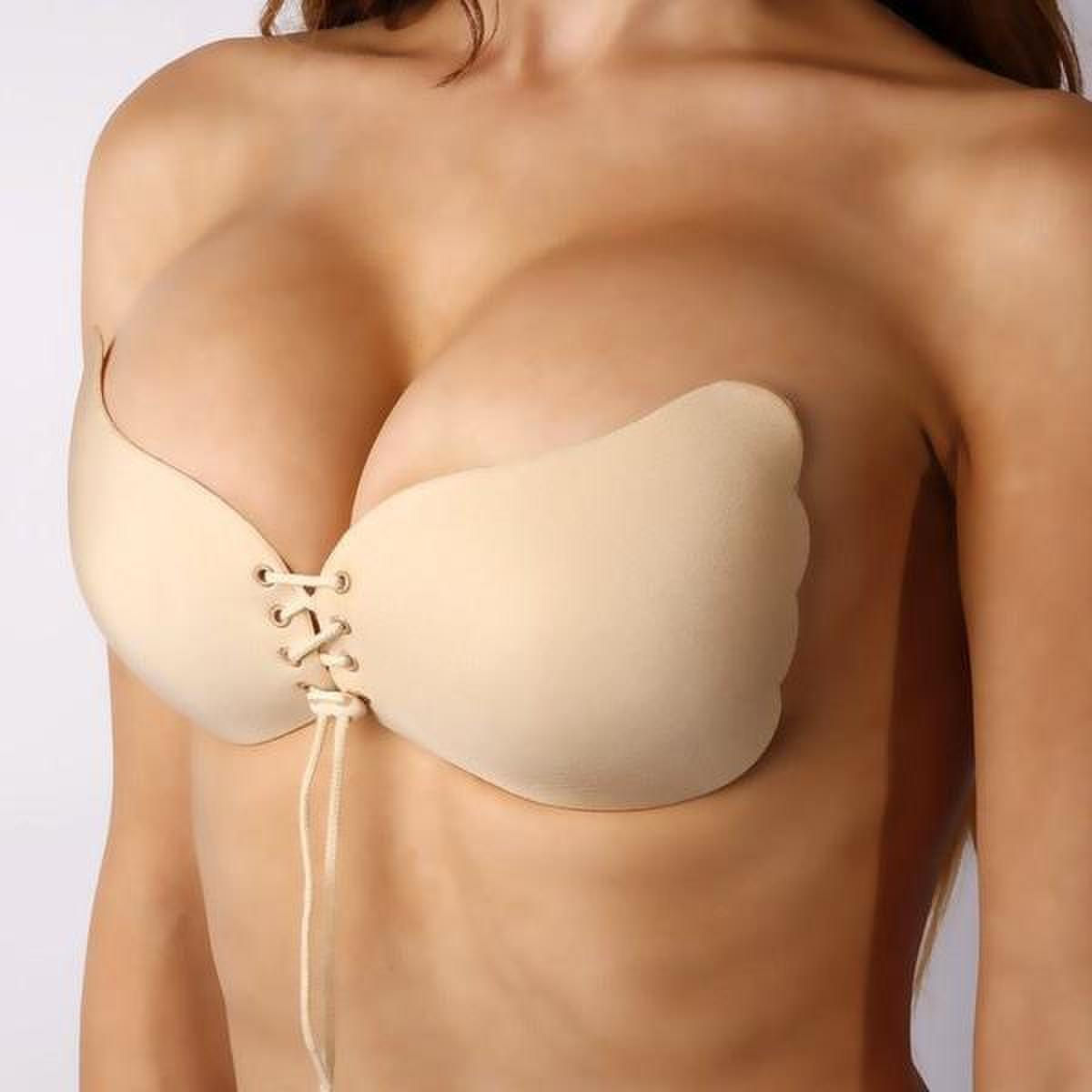 Backless, Strapless, Push-up, Stick-on | Wing Style Bra